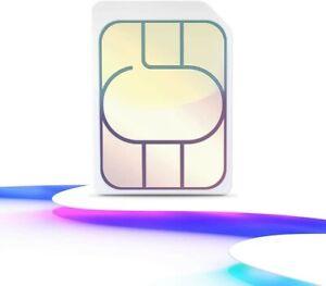 3 Three (Drei) Hutchison 3G aktive Prepaid SIM-Karte UK-Rufnummer Sofort nutzbar