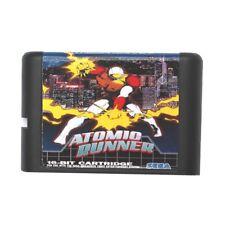 Atomic Runner 16-Bit Fits Sega Genesis Mega Drive Game