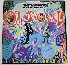 """THE ZOMBIES Signed Autograph """"Odessey & Oracle"""" Album Record Vinyl LP by All 4"""