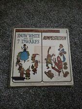 Mercury Records Storyteller 2 Complete Stories Snow White Rumpelstiltskin