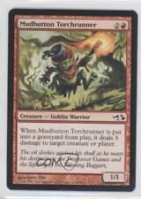2007 Magic: The Gathering - Elves vs Goblins #46 Mudbutton Torchrunner Card 2k3