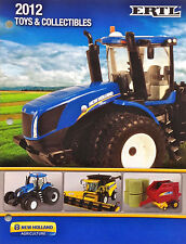 ERTL 2012 NEW HOLLAND LARGE TOY CATALOG 1/64 1/50 1/16