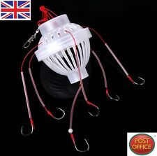 Fishing Tackle Sea Fishing Box Hook Monsters with Six Strong Fishing Hooks New