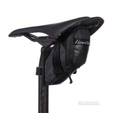 Lizard Skins CACHE Bicycle Saddle Bag Under Seat Storage : JET BLACK