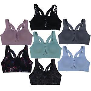 Victoria's Secret Sport Bra Angel Max Lightweight Maximum Support Cutouts New Vs