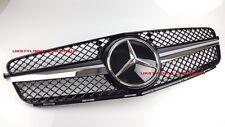 MERCEDES W204 SPORTS GRILLE C300 C280 C200 C350 BLACK AMG STYLE w/ Distronic car