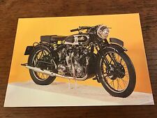 1937 1000cc Vincent-HRD Series A Rapide National Motorcycle Museum Postcard (C)