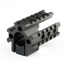 Tactical Weaver Picatinny Adapter.223 Tri-Rail Barrel mount For Rifle scope New