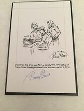 "Autographed  by Ronald ""Ron"" Wayne The First Apple Bookplate 5 x 7.5"