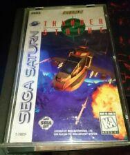 Thunder Strike US NTSC Sega Saturn COMPLETO ITALIANO PAL PARI NUOVO LEGGERE!