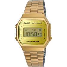 Vintage Casio A168WEGM-9D Rose Gold Mix Digital Watch NEW A168 A168WECM