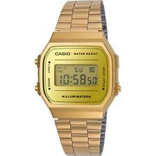 Vintage Casio A168WEGM-9D Rose Gold Mix Digital Watch NEW A168 A168WECM