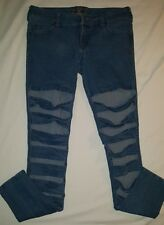 Royal Bones By Daang Blue Jeans size 5 front leg slits