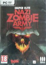 SNIPER ELITE NAZI ZOMBIE ARMY PC DVD Games jeux PC neuf new sans blister