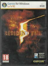 Resident Evil 5 Game PC ITA Complete with Manual