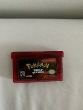 Pokemon: Ruby Version Nintendo Game Boy Advance  USA Version