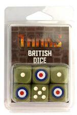 Gale Force Nine Nuevo Y En Caja tanques británicos dice Set (6 dados) gfntanks 14