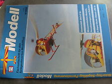 µ? Revue Mdell 4/1992 Bell 47 G DC-3 Paragleiter