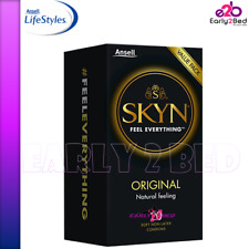 Skyn Original Non Latex Condoms 10 Natural Feel Bulk Buy Ansell Original Condoms