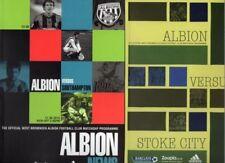 West Bromwich Albion Premiership Home Teams S-Z Football Programmes