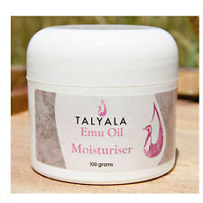 Talyala Emu Oil Moisturiser 100grams Made in Australia Day Night Cream Fascial