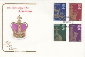 (64397) GB Cotswold FDC Coronation St Albans 1978