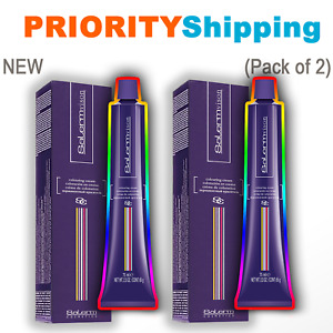 ❗Pack of 2❗ PERMANENT HAIR COLOR DYE by Salerm ⚡PRIORITY SHIPPING⚡ Full Size