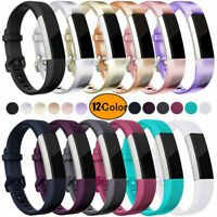 Replacement Silicone Sports Watch Band Strap Belt For Fitbit Alta/Alta HR/ACE