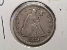 1875-S/S  Twenty cents 20 cent piece silver.