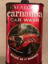 VINTAGE Excaliber  Carnauba Car Wash Waxes as it washes 15 Oz