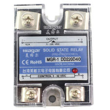 SSR-40A DD DC-DC Solid State Relay input 3-32VDC output 5~220VDC Control