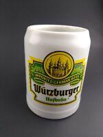Vintage Wurzburger Hofbrau German Beer Stein 1/2L Ceramarte Brazil