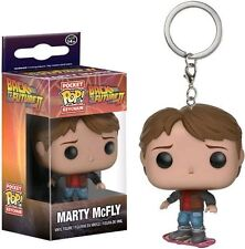 Funko Pocket Pop Keychain Back to The Future 2 Marty McFly on Hoverboard Figure