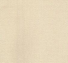 DMC 14 Count Aida punto croce tessuto iridescente/Luccicante GIALLO 49x54cms