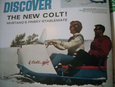 1966 Vintage POLARIS Snowmobile Brochure