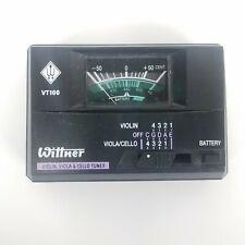 Wittner Vt100 Violin Viola Cello Electronic Instrument Tuner System Works Tested