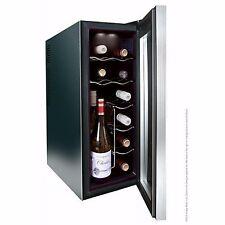 Husky HN6 Reflections Slim Line Wine Cooler, 12 Bottle Capacity