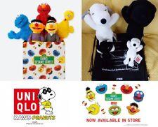 Kaws Sesame Street X UNIQLO Plush Snoopy Ernie Bert Elmo Cookie Monster Big Bird