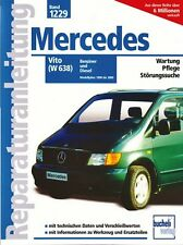 Mercedes Vito W638 Reparaturanleitung Reparaturbuch Reparatur-Handbuch Buch