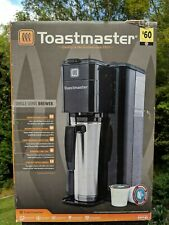 NIB Toastmaster TM-100CM Single Keurig K-Cup Serve Coffee Brewing System: Black