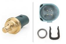 Sensor, Kühlmitteltemperatur für Kühlung Hinterachse HELLA 6PT 009 107-141
