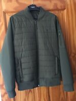 HOLLISTER KHAKI GREEN  BOMBER JACKET SIZE S - BRAND NEW WITH TAGS RRP£79