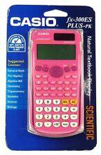 FX-300ES CASIO FX-300ESPLUS-PK Fraction & Scientific Calculator (Pink)