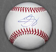 ERIC GAGNE SIGNED OFFICIAL MAJOR LEAGUE BASEBALL LOS ANGELES DODGERS PROOF +COA