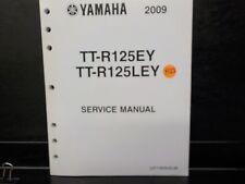 YAMAHA 2009 TT-R125EY  TT-R125LEY       SERVICE MANUAL (Y122)