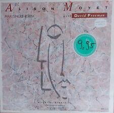 "12"" ALISON MOYET & DAVID FREEMAN SLEEP LIKE BREATHING,NEAR MINT,CBS 651112 9"