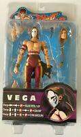 SOTA Street Fighter Round 2 Vega Action Figure NEW Red Outfit GameStop Exclusive