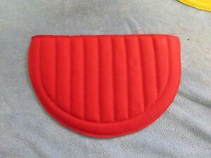 NEW RED GARTON HOT ROD/CASEY JONES RED PEDAL CAR SEAT PAD.
