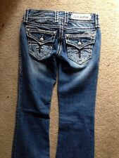 Buckle ROCK REVIVAL NADIA BOOT MID Rise Stretch Jean SIZE 26x32