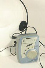 GPX C 3142SM, AM,FM cassette wwalkman w/headset. (ref D 253)